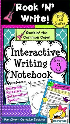 BTS (BOOST TEST SCORES) WRITING PROGRAM- an all-inclusive step-by-step writing program that has been proven to be 98% effective with exemplary scores!  You will find 400+ pages of lesson plans, creative ideas, teaching slides, practice sheets, mentor texts, etc.  It was specifically designed to follow through the WRITING PROCESS and model lessons for Narrative, Opinion, and Informative Writing.  It is labeled with ALL of the 3RD GRADE Writing Common Core Standards and many Language…