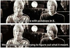 Haha James & Oliver Phelps (: