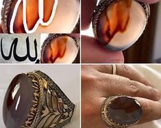 YemeniAqeeqShop on Etsy Black Opal Stone, Class Ring, Agate, Etsy Seller, Gemstone Rings, Rings For Men, Trending Outfits, Unique Jewelry, Handmade Gifts