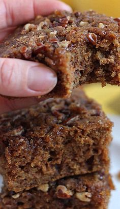 Oatmeal Coffee Cake ~ this recipe contains cooked oatmeal so I say it qualifies for breakfast./vc