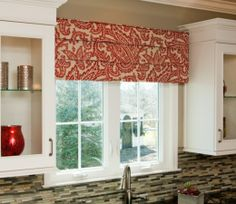 Weekend Project! How to Dress Up #Kitchen Windows With a Cornice Board | Cultivate.com