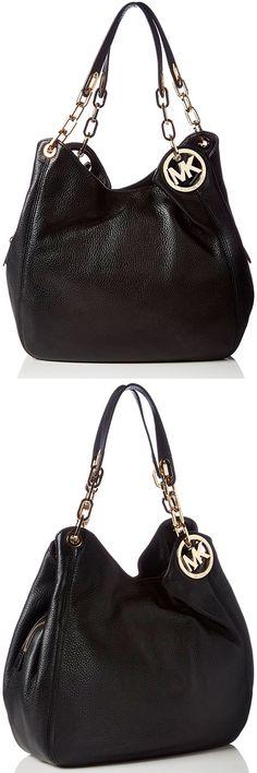 8bcf3f9dcd545a Michael Kors Fulton Large Shoulder Tote – Best Tablet Leather Hobo Shoulder  Bag The Fulton displays