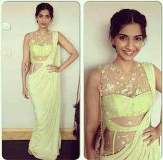 Pretty Sonam Kapoor in Saree <3