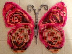 Butterfly Perler by LizC864 by LizC864 on DeviantArt