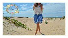 ✨ ¿ Qué os parece nuestra falda cysne azul ? ✨ Divinísima para la temporada..❤ ¿ No os  encantan los colores de esta primavera-verano ? Son tannnn bonitooss...😍🍃🌾🍀✨☀