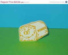 2 DAY SALE 1970s Wonder Bread Loaf Premium Toy Childrens Ring