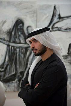 Shiek Majid - 5th son, head of arts & culture
