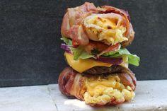 Bacon Mac bun Burger