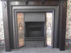 Beautiful Edwardian fireplace