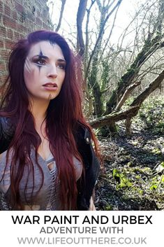 An adventure in an abandoned English building, photographing my war paint and postapocalyptic style while exploring this urbex location . My War, Badass Aesthetic, Warrior Princess, War Paint, Adventurer, Post Apocalyptic, Crows, Exploring, Abandoned