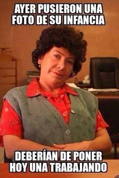 Doña Lucha, Día del trabajo.
