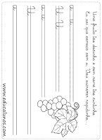 Atividades de caligrafia com vogais Literacy Activities, School