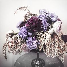 Scape By S / Rambling Floral Arrangements / Moody Blooms / Perth Florist / Wedding Style Inspiration / The LANE