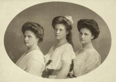 Archiduchesses Dolores, Margaretha and Inmakulata of Austria