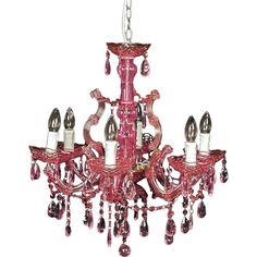 Found it at Wayfair.co.uk - Standalone 6 Light Candle-Style Chandelier
