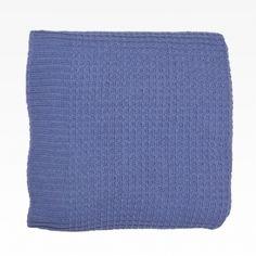 Multiusos de punto con elastán color azul