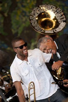 New Orleans Jazz Fest.