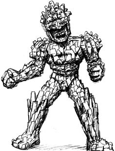 The Golem - special thanks to Mike Whitby
