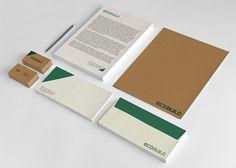 Projeto de Branding e Design da EcoBuild: empresa que fornece sistemas de brumarização para diversos segmentos. Trabalho desenvolvido por Stephano Pierini e Juliana d'Prêt, alunos de Design Gráfico do Instituto Infnet. #identify #branding #print #design #inspiration