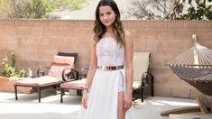 Annie LeBlanc HD Wallpapers Music Theme Annie, Love Her, Summer Outfits, White Dress, Dresses, Fashion, White Dress Outfit, Gowns, Moda