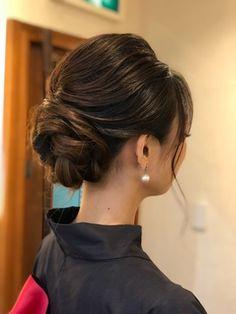 2019 年の「【留袖ヘア】毛流れの綺麗な大人アップスタイル|夢 ...