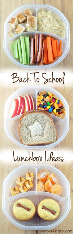 Get your kid excited to eat with these fun and delicious back to school lunchbox ideas! Easy to eat nutritious finger food for lunch! Lunch Snacks, Healthy Snacks, Healthy Recipes, Kid Lunches, School Lunches, Kid Snacks, Detox Recipes, Whats For Lunch, Lunch To Go