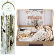 Cream DIY Dream Catcher Craft Kit Make Your Own Arts and Crafts Project For Adults or Children Dream Catcher Kit, Dream Catcher Craft, Craft Projects For Adults, Arts And Crafts Projects, Craft Kits, Diy Kits, Beautiful Dream Catchers, Rustic Wedding Backdrops, Boho Nursery