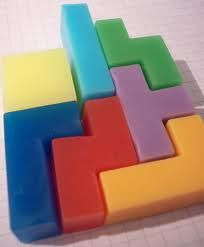 Tetris soap - you could have a game in the bath!