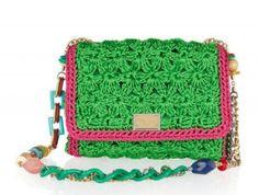 Dolce and Gabbana Crochet Purse