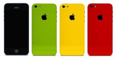 Check Out These New Colorful iPhones. Nice. #SelfMagazine