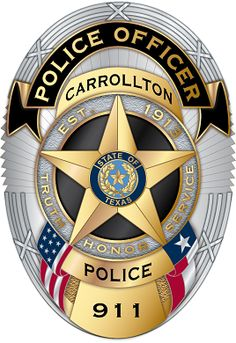 Carrollton PD TX. We Stand with You Law Enforcement Badges, Federal Law Enforcement, Police Badges, Police Cars, Payroll Checks, American Logo, Fire Badge, Blue Line Police, Police Patches