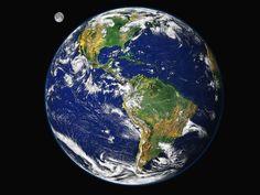 Notre belle Terre et son satellite naturel :La Lune