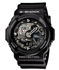 Casio G-Shock Analog-Digital Metallic Shadow Super Illuminator - Resin Band 62c18f33c3
