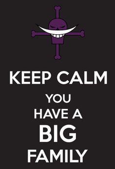"One Piece Keep Calm Edward Newgate ""Whitebeard"""