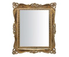 """Lustro ścienne """"Terry Gold"""", 3 x 28 x 33 cm Feng Shui, Salon Shabby Chic, Decoration, Pink Grey, Oversized Mirror, Classic, Gold, Furniture, Home Decor"""