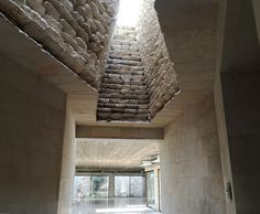 Image 2 of 25 from gallery of Royal Academy for Nature Conservation / Khammash Architects. Photograph by Ammar Khammash Heavy And Light, Light In, Marine Conservation, Energy Conservation, Space Architecture, Architecture Details, Brick Texture, Royal Society, Built Environment