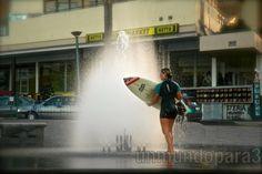 Puerto Cruz, surf en ciudad
