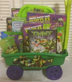Teenage Mutant Ninja Turtle Ultimate Dream Easter Basket - Perfect ...