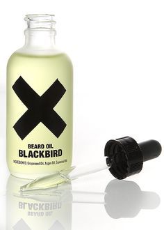 Beard Oil by Blackbird. via The Cools