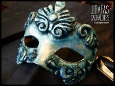 mascaras venecianas: Antifaz Barroco