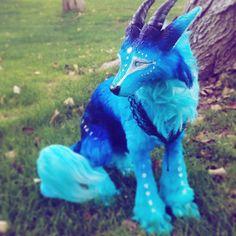 Unda (Handmade Poseable Art Doll) by KaypeaCreations Cute Fantasy Creatures, Mythical Creatures Art, Cute Creatures, Magical Creatures, Beautiful Creatures, Animals Beautiful, Baby Animals Super Cute, Cute Little Animals, Baby Animals Pictures