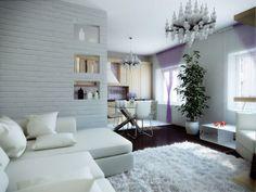Очаровательный дизайн современной квартиры