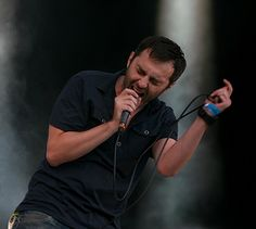 Krzysiek Ostrowski (kostry) - lead singer of Cool Kids Of Death