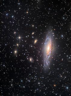 NGC7331 | by Julian Hancock