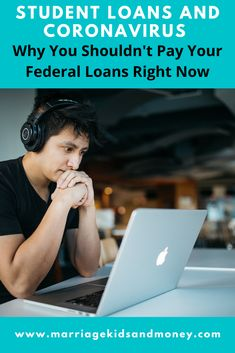 Robert Farrington from The College Investor explains how students loans and Coronavirus legislation in the CARES Act will impact your federal student loans.