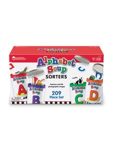 Alphabet Soup Sorters by Learning Resources at Gilt