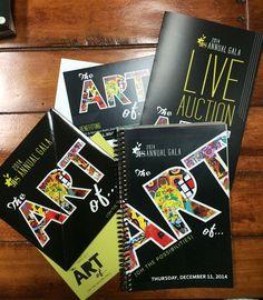 The Art of Gala Collateral #design #art #invitation #color #create #collateral