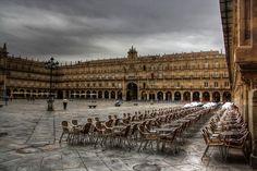 Salamanca Pl. Mayor - por Isidoro Mulas