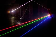 Speed of Light, una instalación de United Visual Artists.