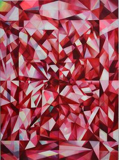 Michelle Hinebrook's paintings are infused with an understanding of optics and geometry as well as painterly intuition. Attempting to capture move...